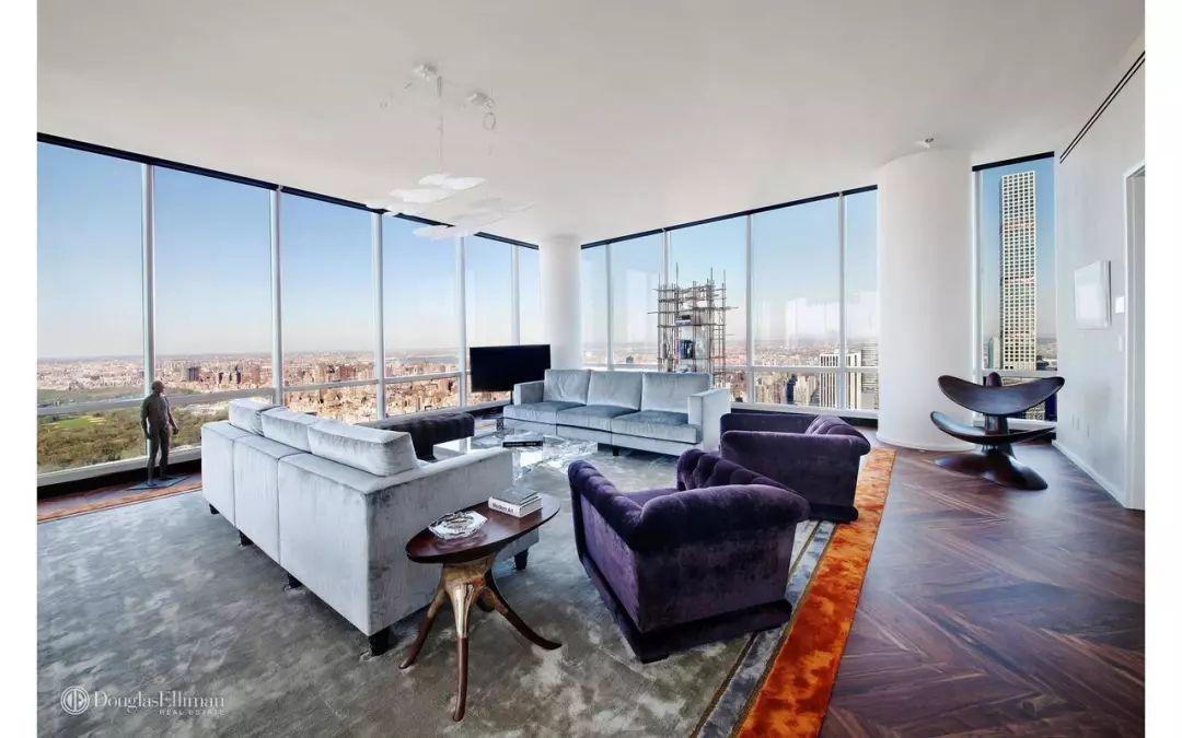 「One57」独一无二的亿万富翁俱乐部...从77全层4居室$4,400万...至42层1居室$359.5万...即可入住
