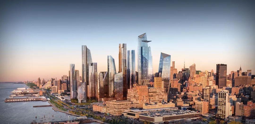 "15 Hudson Yards 哈德逊广场15号——曼哈顿中的""小曼哈顿"""