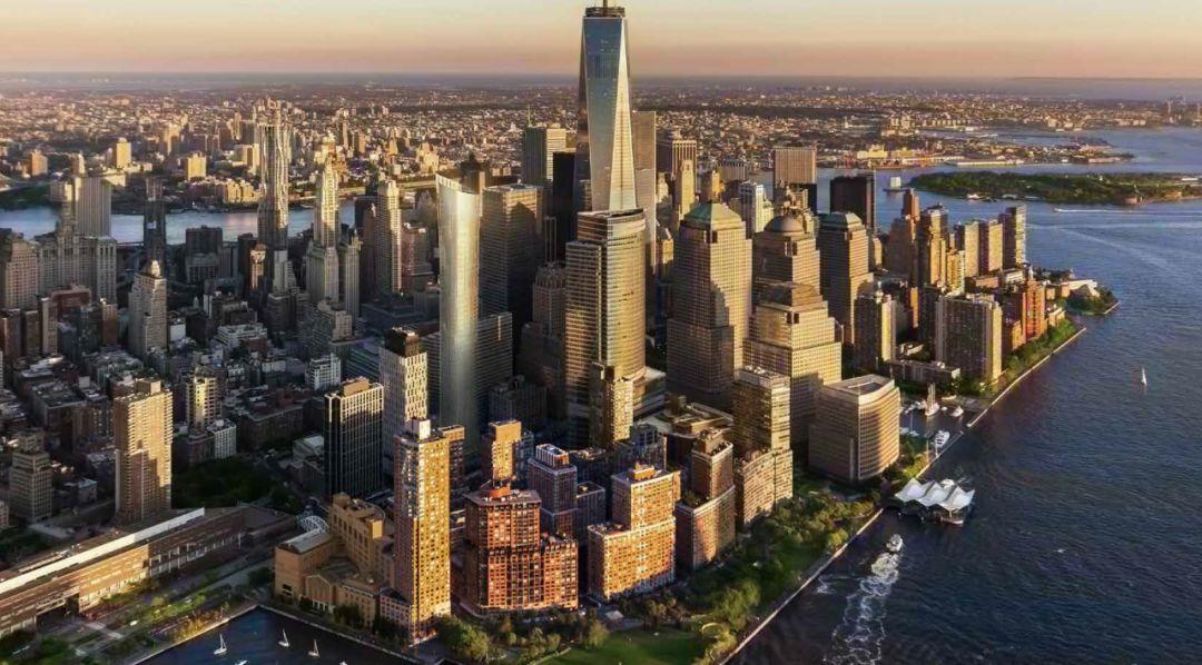 纽约曼哈顿 TriBeCa 天际线上的耀眼之城 111 Murray Street 高端豪华产权公寓