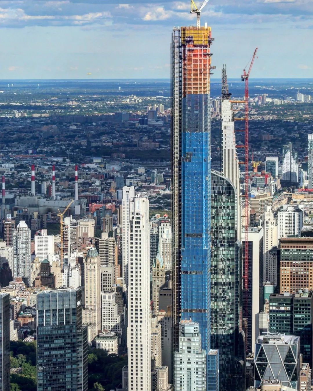 全球最高住宅公寓封顶!「中央公园一号」不负其名高贵优雅地俯瞰中央公园