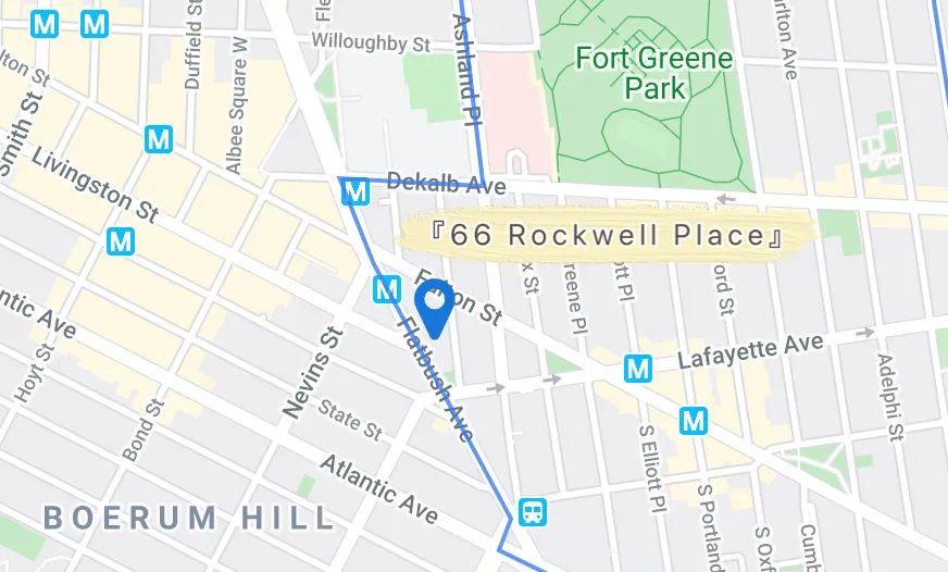 TwoBro房源|66 Rockwell,位于布鲁克林市中心Pratt 同学最爱的大楼